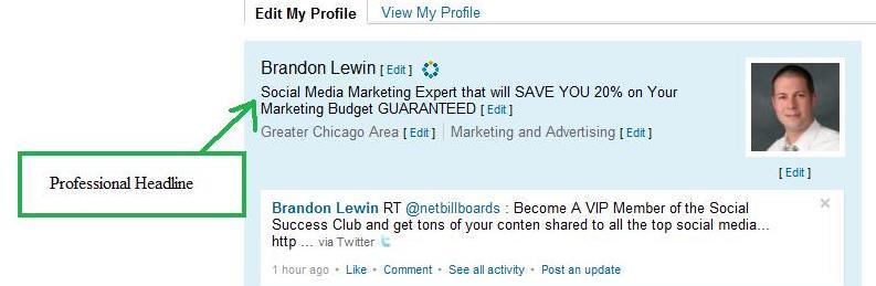 ProfNet Connect > Brandon Lewin > Blog > Professional Headline ...